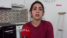 Antalya'da eşinin saldırısına uğrayıp bacağını kaybetti: Ölmek istemiyorum
