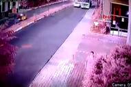 Avcılar'da motosikletli kuryelerin kazası