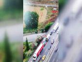 Başakşehir'de emniyet şeridini ihlal eden sürücü drone ile yakalandı