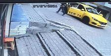 Kağıthane'de taksicinin ezdiği çocuk yaşamını yitirdi