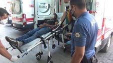 Kayseri'deki inşaat bekçisi, hırsızları hastanelik etti
