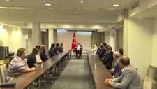 Mevlüt Çavuşoğlu, Finlandiya'da Türk vatandaşlarıyla buluştu