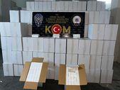 Adana'da 20 milyon 515 bin kaçak makaron ele geçirildi