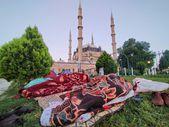 Güreş sevdalıları Edirne'ye akın etti