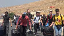 Hatay Cilvegözün'den 4 bin 513 Suriyeli bayramlaşmak için ülkesine gitti
