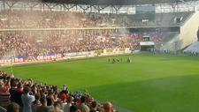 Polonya'da, Podolski'ye coşkulu karşılama