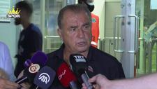 Galatasaray Teknik Direktörü Fatih Terim'den transfer açıklaması