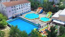 Bursa'da 7 okul, tatil köyü gibi havuzlarla doldurulacak
