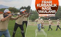 Erzincan'da 'kurban yakalama timi' antrenmanlara başladı