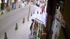 İstanbul'da yola fırlayan çocuk, son anda kurtuldu