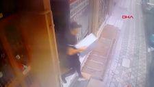 Sultangazi'deki hırsız bilgisayar kasası çaldı