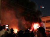 Irak'ta koronavirüs hastalarının kaldığı hastanede yangın