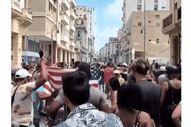 Küba sokakları, gösteriye sahne oldu