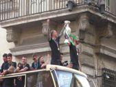 İtalya Milli Takımı, Roma caddelerinde şampiyonluk turu attı