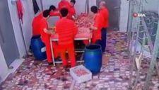 Kağıthane'de kasapta çalışan iş arkadaşını öldürdü