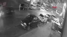 Sultangazi'de otomobil yayaya çarptı