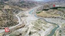 Adıyaman'da, 500 yıllık Altınlı Köprüsü sular altında kalacak