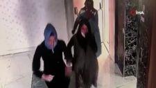 Ankara'da yeni evli çiftlerin dairlerine dadanan hırsızlar kamerada