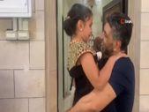 Filistinli 8 yaşındaki Leyla, özgürlüğüne kavuşan babasıyla ilk kez görüştü