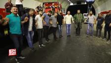 Rizeliler Salarha Tüneli'ni horonla kutladı