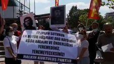Türk solundan, ABD Büyükelçiliği önünde Küba protestosu