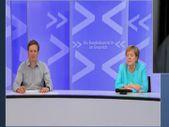Angela Merkel, çevrim içi toplantıda uyukladı
