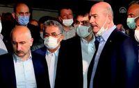 Cumhurbaşkanı Erdoğan'ın talimatıyla 3 bakan Rize'ye gitti