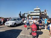 Bozcaada'da bayram yoğunluğu