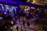 Bursa'da bıçakla yaralanan şahıslar, kafeye gidip yardım istedi