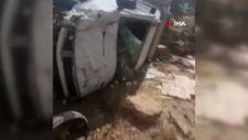Gaziantep'te hatalı sollama kaza getirdi: 2 ölü