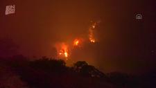 Hatay'ın Hassa ilçesinde orman yangını