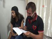 Aksaray'da reklam yüzü olmaya gitti, hastanelik oldu