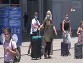 Antalya'ya 26 günde 1 milyon 200 bin yabancı turist geldi