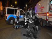 Bursa'da sabah namazına giderken motosiklet çarptı