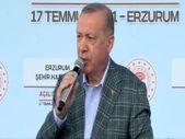 Cumhurbaşkanı Erdoğan, 979 milyonluk Erzurum Şehir Hastanesi'ni açtı