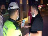 Isparta'da polisi görünce yaya rolü yapıp kaçmaya çalışan alkollü sürücü