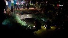Sakarya'da sulama kanalına düşen çocuk için ekipler seferber oldu