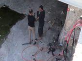 Şanlıurfa'da kablo hırsızlığına suçüstü