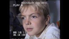 Caner Erkin söz verdiği çocukluk videosunu paylaştı