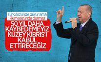 Cumhurbaşkanı Erdoğan'ın KKTC Meclisi'ndeki konuşması