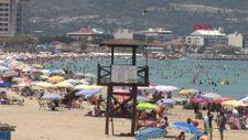 İzmir Çeşme'de bayram tatili yoğunluğu