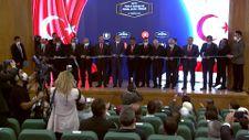 Erdoğan, Lefkoşa'da toplu açılış ve temel atma törenine katıldı
