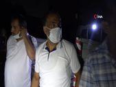 Samsun'da parkta alkol alırken ateş yakan şahıs kendini yaktı