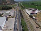 Aydın'da tatilciler trafikte yoğunluk oluşturuyor