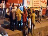 Bandırma'da iki araç çarpıştı