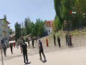 Erzurum'da yabancı uyruklu şahıslar ile pazarcılar arasında kavga