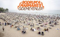 İstanbul'da bayramın ikinci günü Güneş Plajı doldu