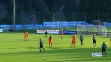 Lazio, hazırlık maçında rakibine 11 gol attı