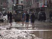 Arhavi'de sular çekilmeye başlayınca bilançonun büyüklüğü ortaya çıktı