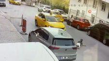 Esenyurt'ta yola fırlayan çocuğa taksi çarptı
